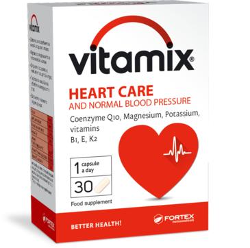 ВИТАМИКС ЗА СЪРЦЕ 30 таблетки ФОРТЕКС | VITAMIX HEART CARE 30 caps FORTEX