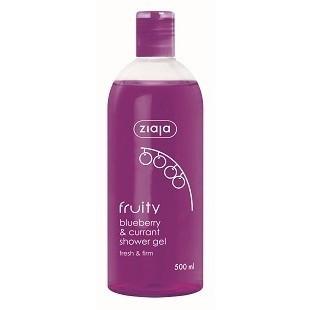 ЖАЯ Душ гел боровинка и касис 500мл | ZIAJA Fruity blueberry & currant shower gel 500ml
