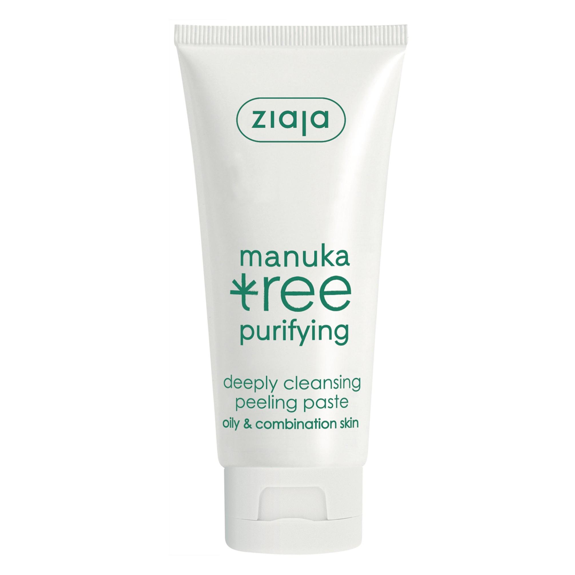 ЖАЯ Пилинг с екстракт от манука 75мл | ZIAJA Manuka tree peeling paste 75 ml