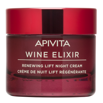 Нощен крем за лице х 50мл УАЙН ЕЛИКСИР АПИВИТА | Renewing Lift Night Cream x 50ml WINE ELIXIR APIVITA