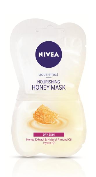 НИВЕА Маска с мед за суха кожа 2x7.5мл | NIVEA Nourishing honey mask 2x7.5мл