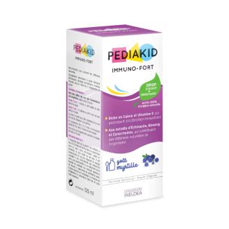 ПЕДИАКИД ИМУНОФОР сироп за имунитeт x 125мл   PEDIAKID IMMUNO-FOR syrup x 125ml