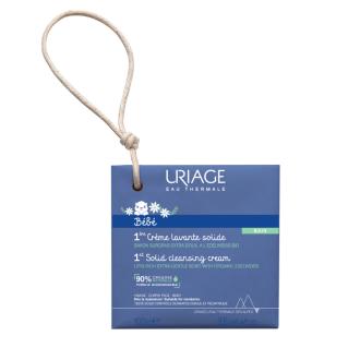 Липидо-обогатен почистващ крем-сапун x 100гр БЕБЕ ЮРИАЖ | 1st Creme Lavante Solide x 100g BABY URIAGE