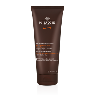 НУКС МЕН Душ гел за лице, коса и тяло 200мл | NUXE MEN Multi-use shower gel 200ml