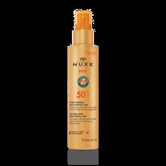 НУКС СЪН Крем с много висока защита SPF50 150мл | NUXE SUN Melting spray for face and body SPF50 150ml
