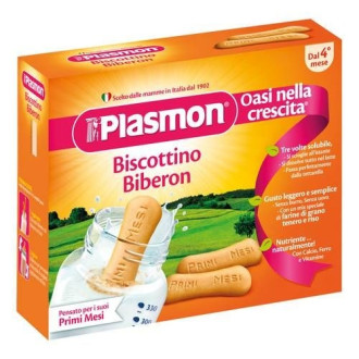 ПЛАЗМОН Бебешки бишкоти Биберон 4+ 320гр | PLASMON Biscottino Biberon 34+ 20g
