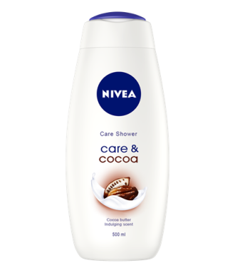 НИВЕА КЕЪР & КАКАО Душ гел 500мл   NIVEA CARE & COCOA Shower gel 500ml