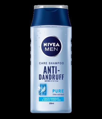 НИВЕА МЕН ПЮР Шампоан за мъже против пърхот 250мл | NIVEA MEN PURE Care shampoo anti-dandruff 250ml