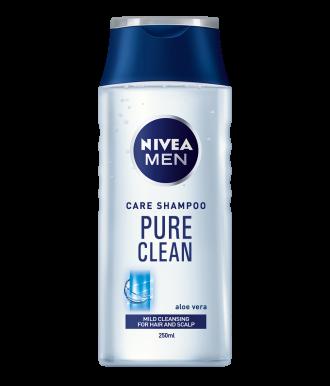 НИВЕА МЕН ПЮР КЛИЙН Шампоан за мъже 250мл | NIVEA MEN PURE CLEAN Care shampoo 250ml