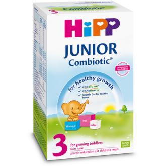 ХИП 3 КОМБИОТИК ДЖУНИЪР Мляко за малки деца 500гр | HIPP 3 COMBIOTIC JUNIOR Growing up milk 500g
