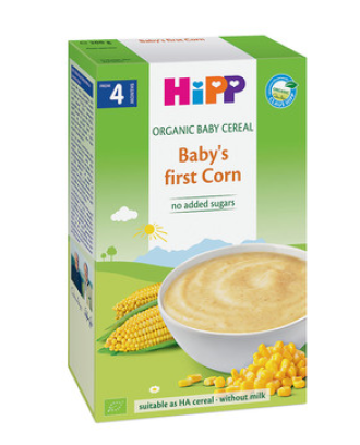 ХИП БИО Каша царевица 4+ м. 200гр.   HIPP BIO Corn mash 4+ m 200g