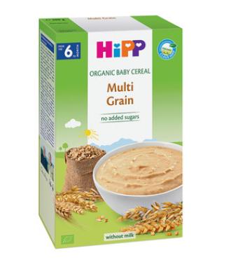 ХИП БИО Многозърнеста каша 6+ м. 200гр. | HIPP BIO Multi grain mash 6+ m 200g