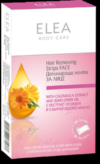 ЕЛЕА Депилиращи ленти за лице 20бр | ELEA Hair removing Face strips 20s