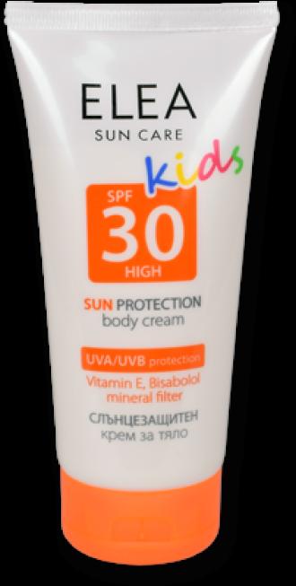 ЕЛЕА Детски слънцезащитен крем за тяло SPF 30 150мл | ELEA Sun care SPF 30 kids 150ml
