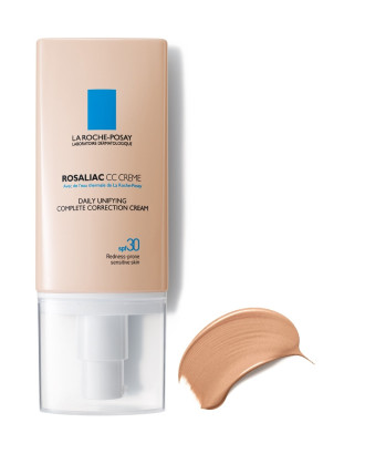ЛА РОШ ПОЗЕ РОЗАЛИАК СС Слънцезащитен изравняващ крем (универсален) SPF30 50мл | LA ROCHE-POSAY ROSALIAC CC Daily Unifying complete correction cream (universal) SPF30 50ml