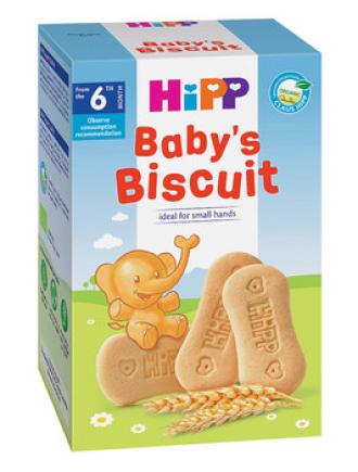 ХИП БИО Първите бисквити на бебето 6+ м. 150гр. | HIPP BIO Baby's biscuit 6+ m 150g