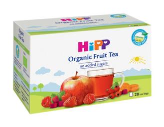 ХИП БИО Плодов чай 20 пакетчета | HIPP BIO Organic fruit tea 20 packets