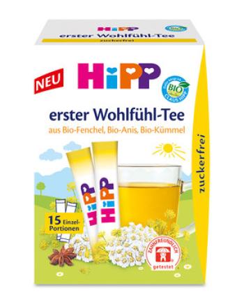 ХИП БИО Екстрактен чай Комфорт 15 сашета   HIPP BIO Comfort instant tea 15 sachets