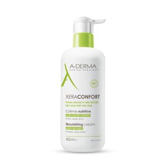 А-ДЕРМА KСЕРАКОНФОРТ Подхранващ крем срещу сухота 400мл   A-DERMA XERACOMFORT CONFORT Nourishing anti-dryness cream 400ml