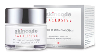 СКИНКОД ЕКСКЛУЗИВ Клетъчен крем забавящ стареенето 50мл | SKINCODE EXCLUSIVE Cellular anti-aging cream 50ml