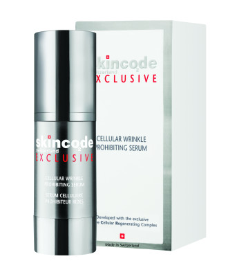 "СКИНКОД ЕКСКЛУЗИВ Клетъчен серум ""Стоп на бръчките"" 30мл 