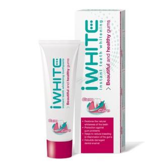 АЙ УАЙТ ИНСТАНТ Избелваща паста за зъби при проблеми с венците 75мл | IWHITE INSTANT Toothpaste teeth whitening gum care 75ml