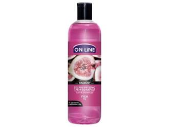 ОН ЛАЙН Гел за душ и вана с масло от Смокиня 500мл | ON LINE Shower gel and bath with Fig oil 500ml