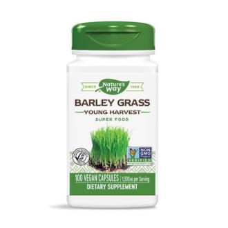 ЕЧЕМИК (МЛАДИ СТРЪКОВЕ) 500мг раст. капсули 100 бр. НЕЙЧЪР'С УЕЙ | BARLEY GRASS (YOUNG HARVEST) 500mg veg. caps 100s NATURE'S WAY