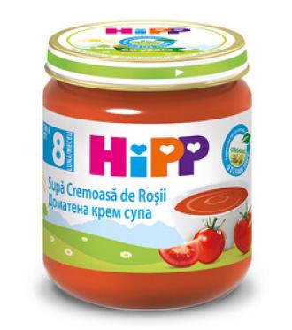 ХИП БИО Пюре Доматена крем супа 8+ м. 200гр. | HIPP BIO Tomato cream soup puree 8+ m 200g