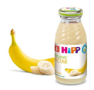 ХИП БИО Нектар от банан 4+ м. 200мл. | HIPP BIO Organic nectar banana 4+ m 200ml