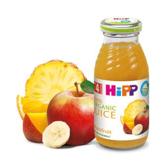 ХИП БИО Сок мултивитамин 4+ м. 200мл.   HIPP BIO Organic juice multifruit 4+ m 200ml