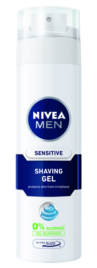 НИВЕА МЕН СЕНЗИТИВ Гел за бръснене 200мл | NIVEA MEN SENSITIVE Shaving gel 200ml