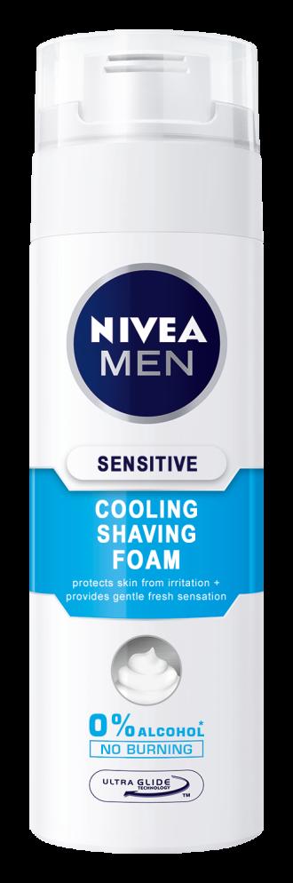 НИВЕА МЕН СЕНЗИТИВ КУУЛ Пяна за бръснене 200мл | NIVEA MEN SENSITIVE COOL Shaving foam 200ml