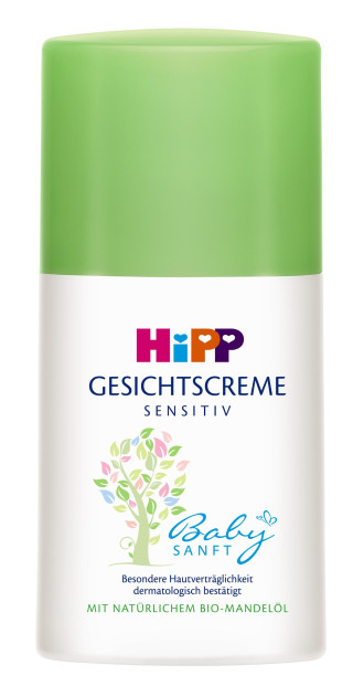 ХИП БЕЙБИЗАНФТ Хидратиращ крем за лице 50мл | HIPP BABYSANFT Moisturizing face cream 50ml