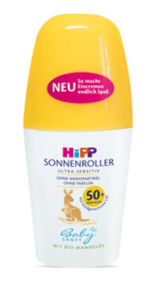 ХИП БЕЙБИЗАНФТ Слънцезащитен ролон за тяло SPF50+ 50мл | HIPP BABYSANFT Sun protection body roll-on SPF50+ 50ml
