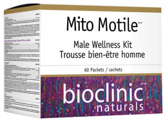 МИТО МОТАЙЛ (ФЕРТИЛИТЕТ ФОРМУЛА ЗА МЪЖЕ) комплект 1бр. (60 пакетчета) БИОКЛИНИК НАТУРАЛС | MITO MOTILE (MALE WELLNESS) kit 1s (60 sachets) BIOCLINIC NATURALS