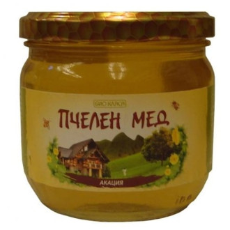 БИО Пчелен мед от Акация 275гр или 500гр БИО КЛАСА | BIO Acacia honey 275g or 500g BIO KLASA