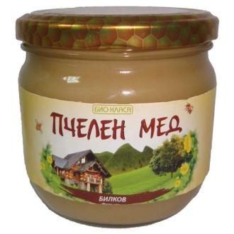 БИО Пчелен мед Билков 275гр или 500гр БИО КЛАСА | BIO Herbal honey 275g or 500g BIO KLASA