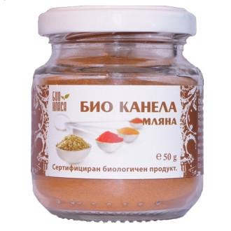 БИО Канела мляна 50гр БИО КЛАСА | BIO Ground cinnamon 50g BIO KLASA