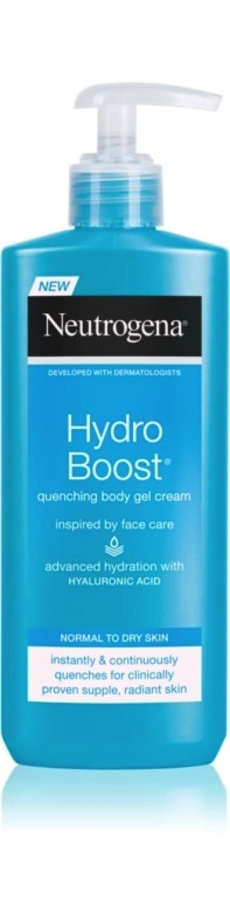 НЕУТРОГЕНА ХИДРО БУУСТ Хидратиращ гел-крем за тяло 250мл | NEUTROGENA HYDRO BOOST Quanching body gel cream 250ml