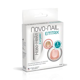 НОВО-НЕЙЛ ЕМТРИКС лечебен лак за нокти x 10мл   NOVO-NAIL EMTRIX medicated nail laquer x 10ml