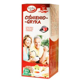 Чай за Кръвно налягане Грика 60бр филтърни пакетчета, 180гр ГРИКОПОЛ | Tea Cisnienio-Gryka 60s teabags, 180g GRYKOPOL