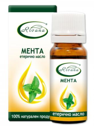 РИВАНА Етерично масло от МЕНТА 10мл | RIVANA MENTHA ARVENSIS Essential oil 10ml