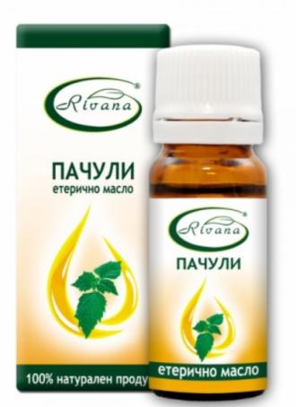РИВАНА Етерично масло от ПАЧУЛИ 10мл | RIVANA POGOSTEMON PATCHOULI Essential oil 10ml