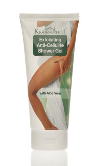АСАМ КРОЙТЕРХОФ Душ гел ексфолиант 200мл | ASAM KRAUTERHOF Exfoliating Ahti-cellulite shower gel 200ml