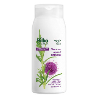 БИЛКА ХЕЪР КЕЪР Шампоан за здрава коса против косопад 200мл | BILKA HAIR CARE Shampoo for healthy hair against hair loss 200ml