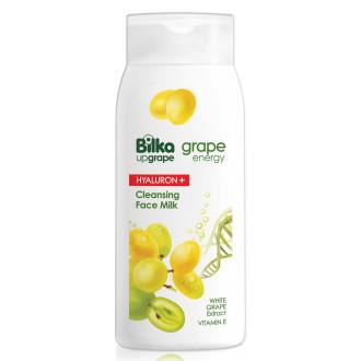 БИЛКА ГРЕЙП ЕНЕРДЖИ ХИАЛУРОН+ Почистващо мляко за лице 200мл | BILKA GRAPE ENERGY HYALURON+ Cleansing face milk 200ml