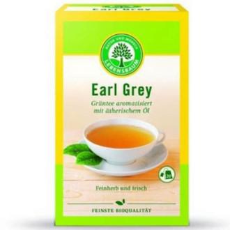 БИО Зелен чай Ърл Грей, пакетчета 20бр, 30гр ЛЕБЕНСБАУМ | BIO Green tea Earl Grey, teabags 20s, 30g LEBENSBAUM