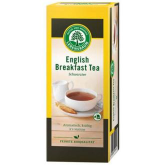"БИО Черен чай ""Английска закуска"", пакетчета 20бр, 40гр ЛЕБЕНСБАУМ | BIO Black tea ""English breakfast"", teabags 20s, 40g LEBENSBAUM"