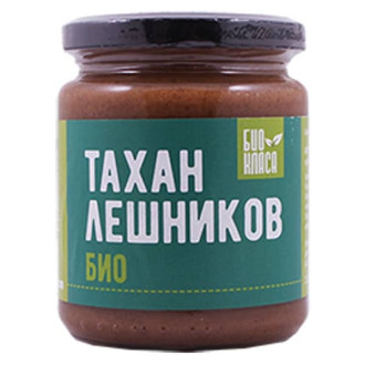БИО Тахан лешников 250гр БИО КЛАСА | BIO Hazel tahini 250gr BIO KLASA